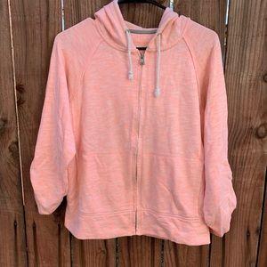 Calvin Klein Pink Zip Up Sweater Small Women